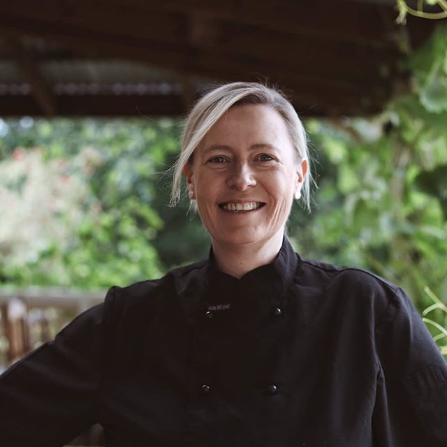 🔪🔪 Ones to Watch 🔪🔪 Chef Emma Handley has previously been on the pans at Villa Gusto and Huski and has now opened her own restaurant @templar.lodge 💁♀️ Emma has taken over an iconic former Masonic Hall in Tawonga that has extensive views of Mount Bogong in Victoria. Fancy a trip out of town, here's your place.  Check out Emma and lots more amazing #womeninfood on our website #onestowatch