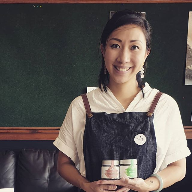 🍙🍙 Ones to Watch 🍙🍙 Meet Sarah Leung, she is a dietitian and founder of @alg_seaweed  Sarah spends her days developing new ways to include seaweed in our diets, an amazing superfood packed with iodine. Find out more about what she is doing on our website #onestowatch