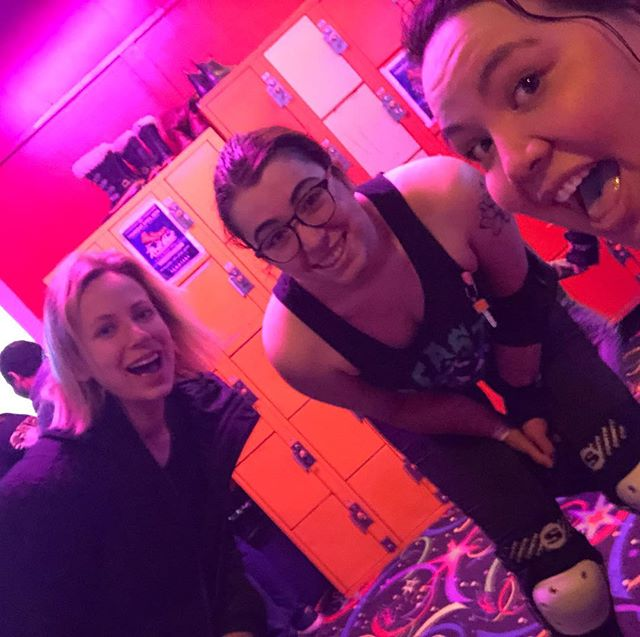 roller skating is my favourite and it's even more my favourite with people i love ❤️#scootersrollerpalace #skateordie #crossfitmeetsrollerderby