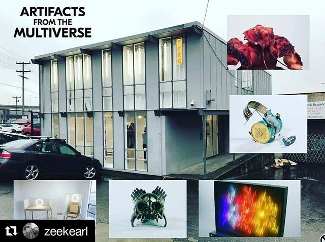 #Repost @zeekearl ・・・ TODAY is the last day.  Our exhibition of the world of Prospect and six other dimensions is open today from noon until 9PM. And that's it!  At 730PM there will be a performance by Norm Chambers - a musician who creates layered worlds with vintage electronic instruments. The perfect accompaniment to the experience.  It's at the GLASS BOX Gallery - 831 Seattle Blvd S  #seattleart #seattleartist #seattlegallery #scifiart #prospectmovie #takacorp