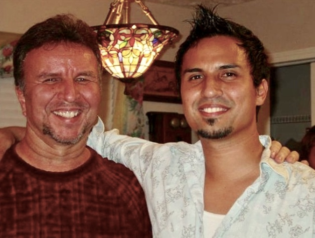 Mike and Gregg - Father and Son - 2009