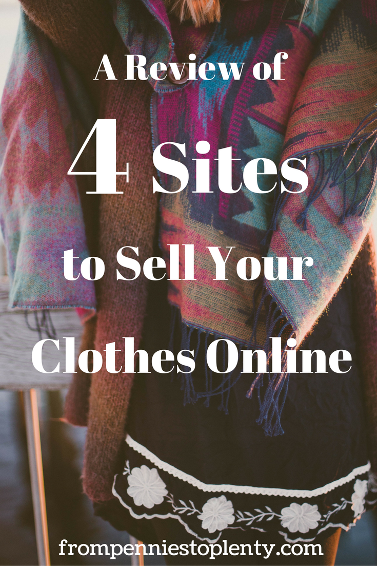 A Review of 4 Sites to Sell Your Clothes Online - Poshmark, Mercari, eBay, Tradesy