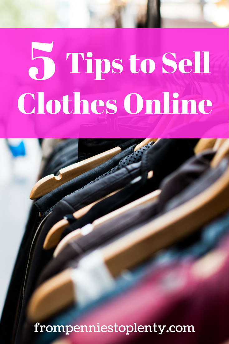 5 Tips to Sell Clothes Online