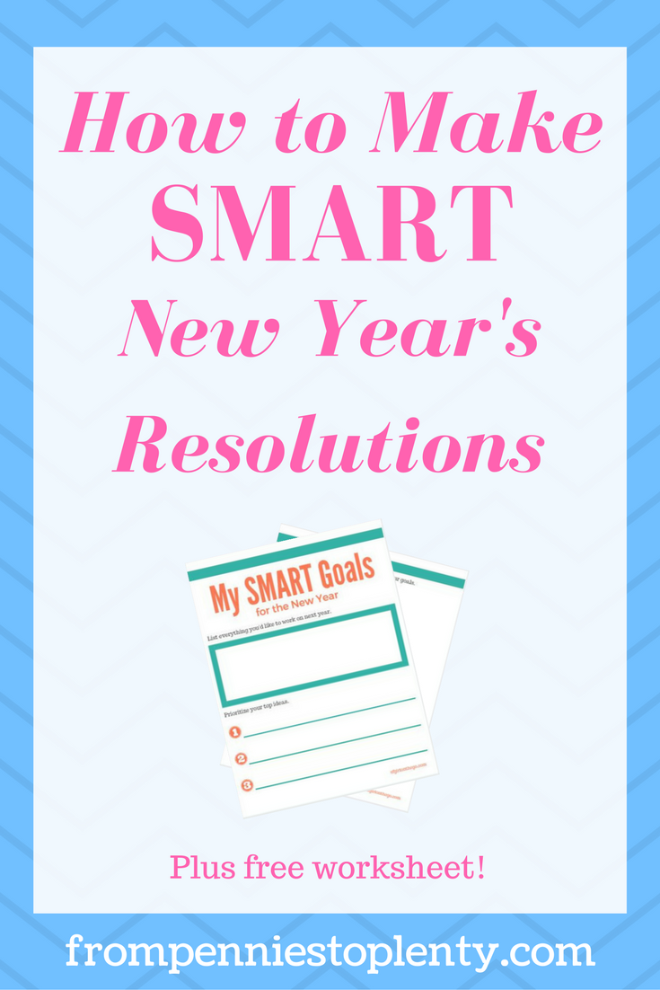 How to Make SMART New Year's Resolutions