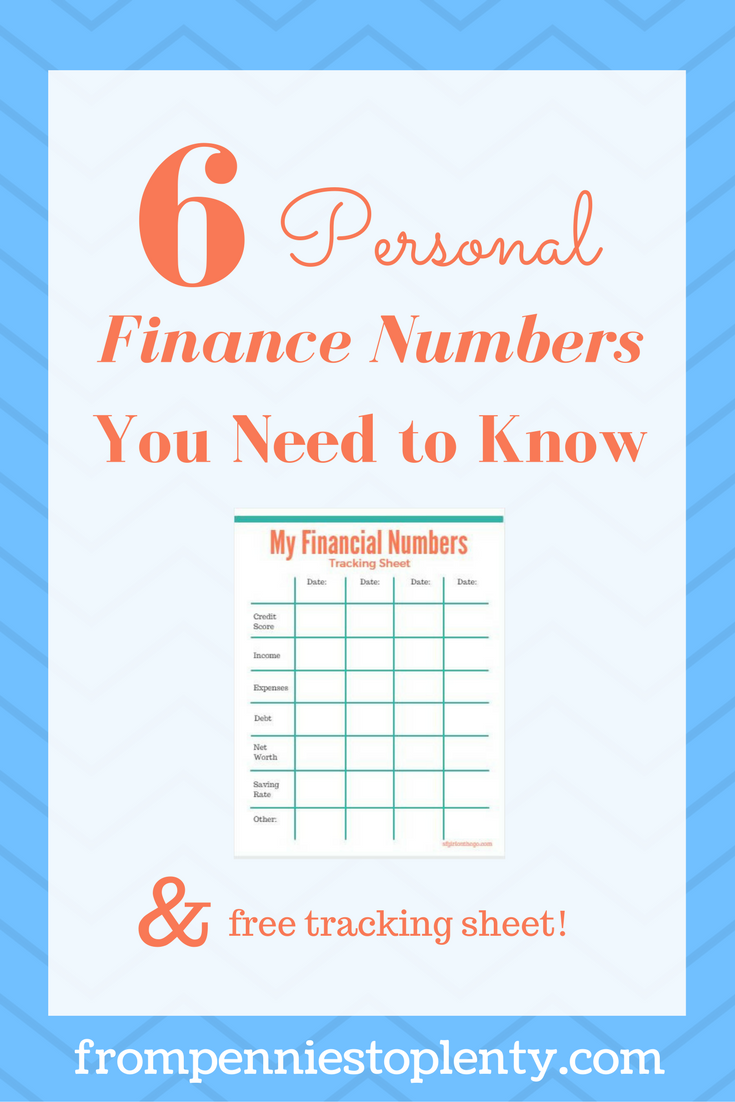6 personal finance numbers you need to know from pennies to plenty