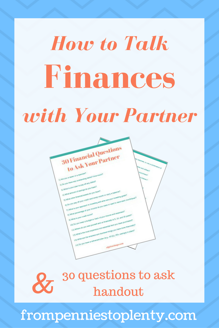 How to Talk Finances with Your Partner