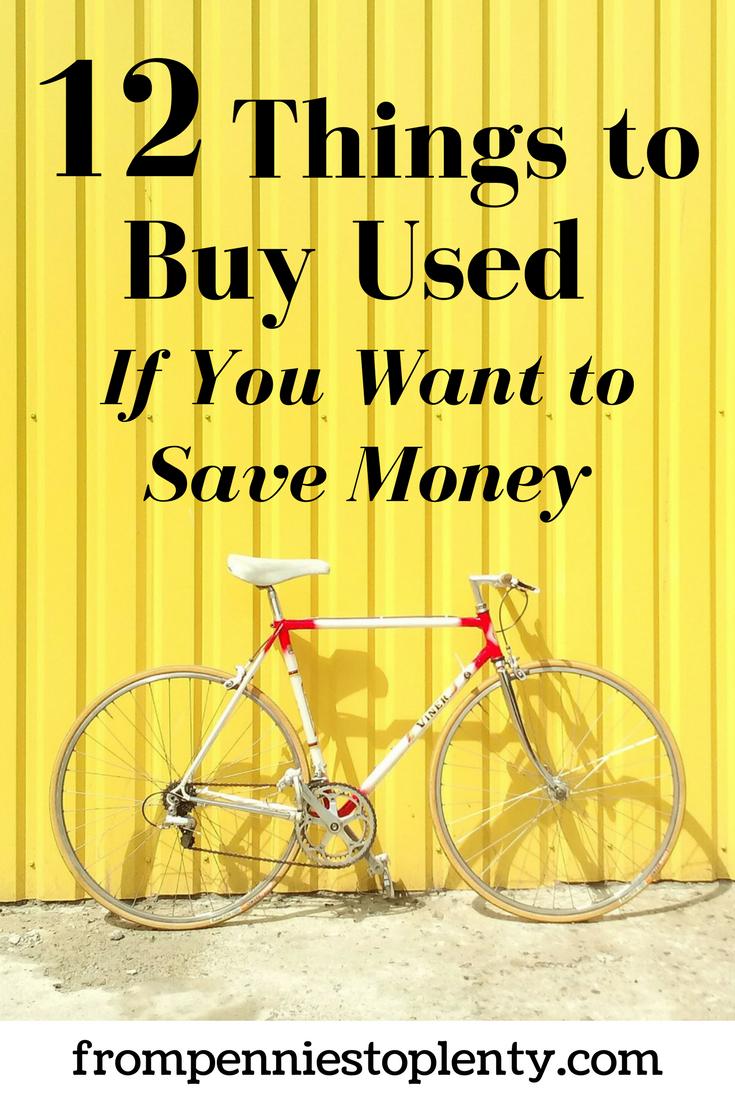 12 Things to buy used 1