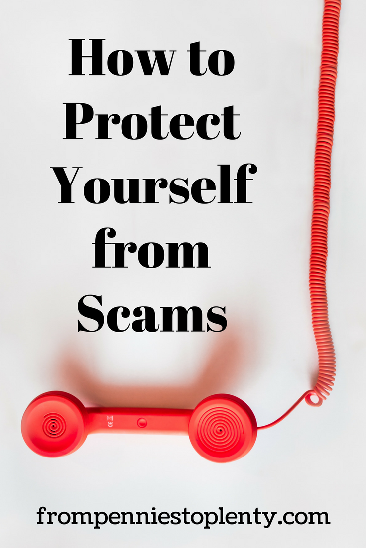 how to protect yourself from scams