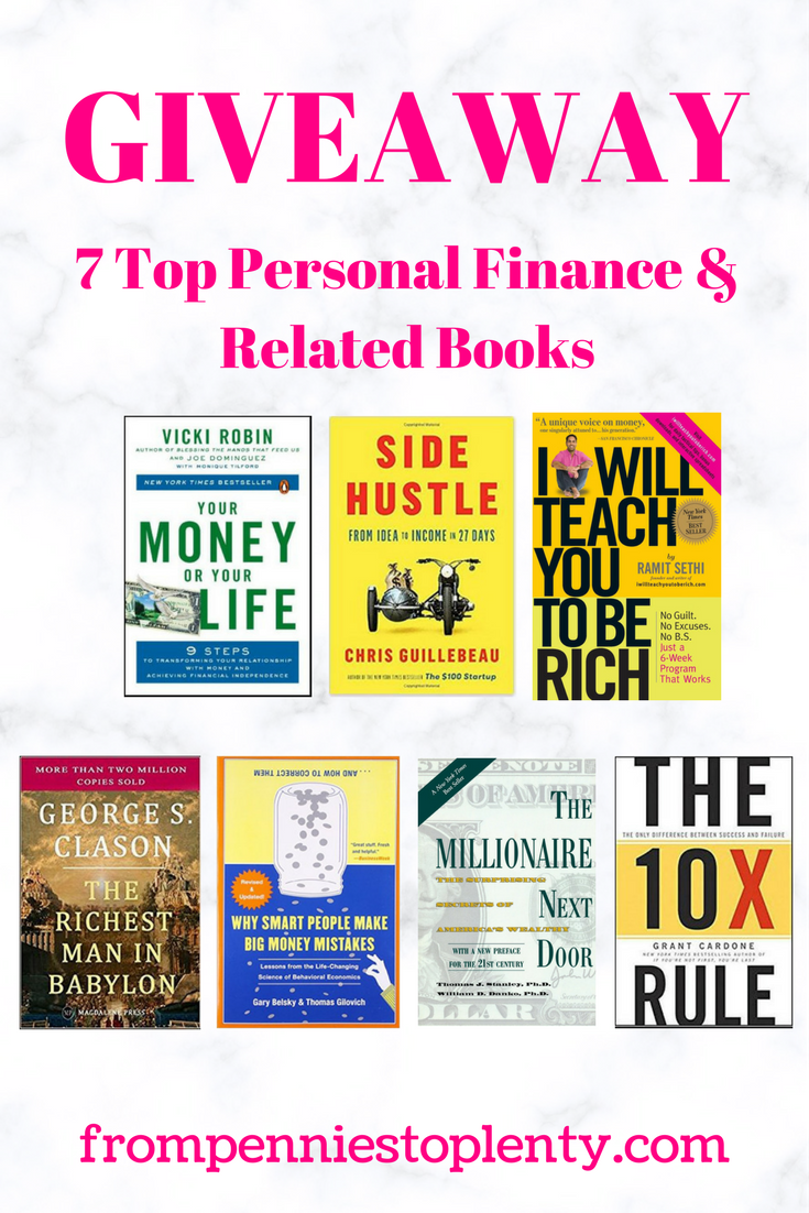 Giveaway - Personal Finance & Related Books