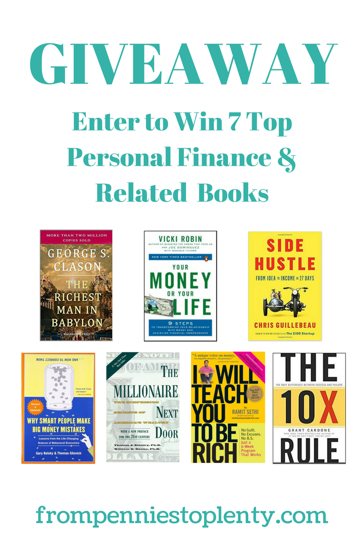 Giveaway - Personal Finance & Related Books 2