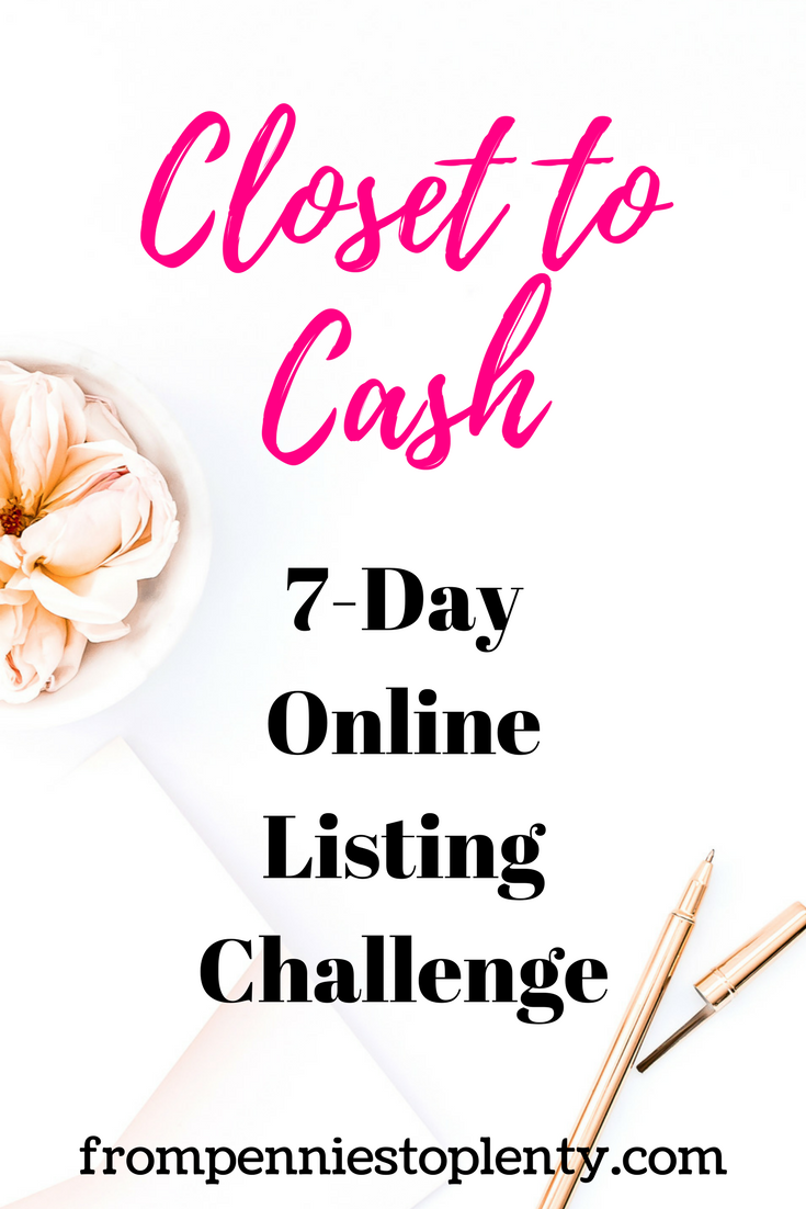 Closet to Cash 1