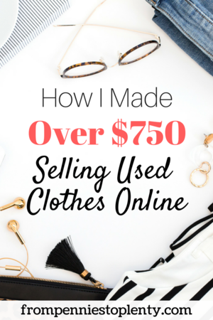 Sell Used Clothes Online >> How I Made Over 750 Selling Used Clothes Online From Pennies To