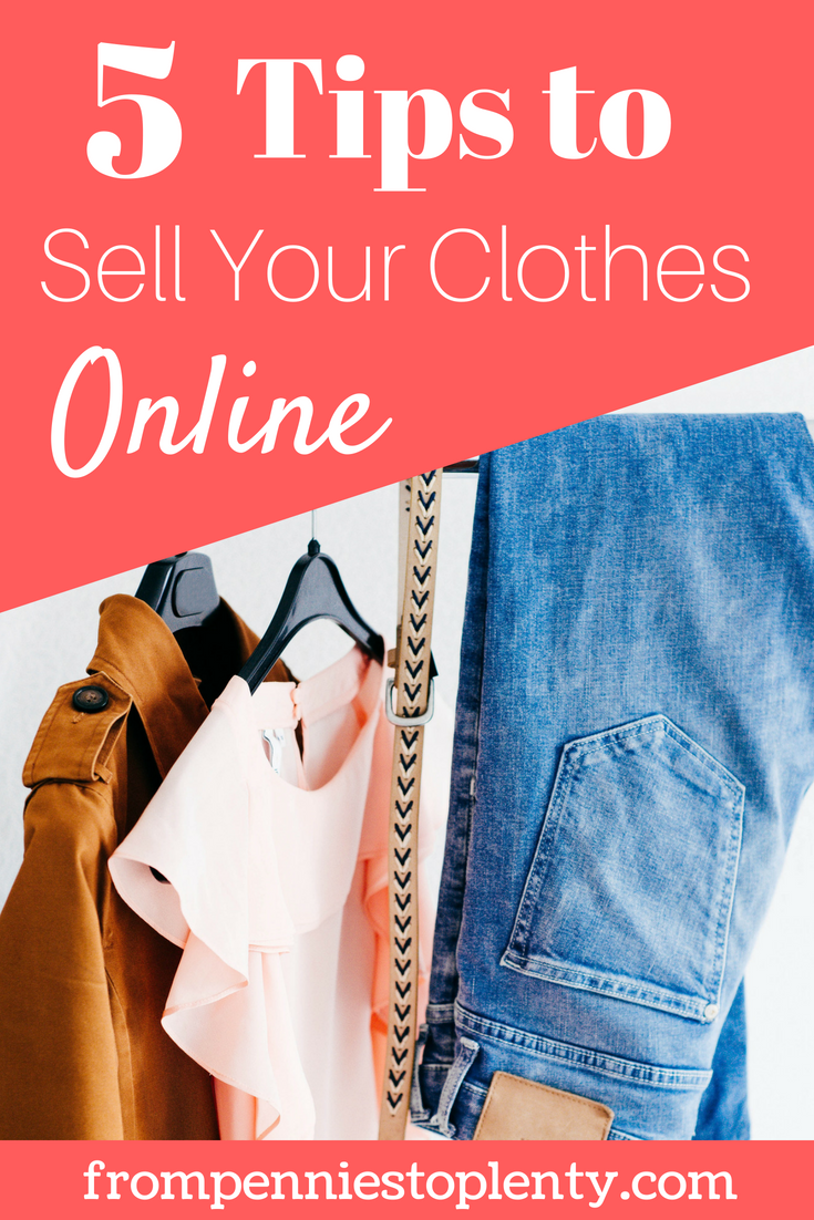 5 tips to resell your clothes online