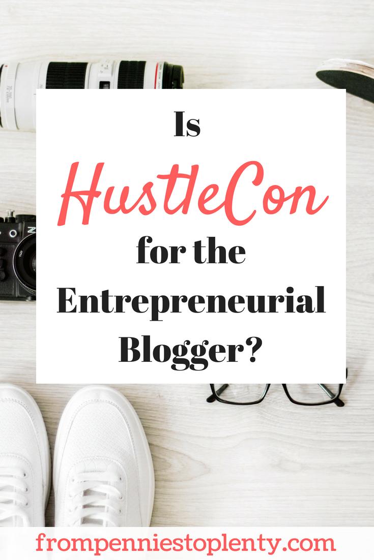 hustlecon entrepreneurial blogger