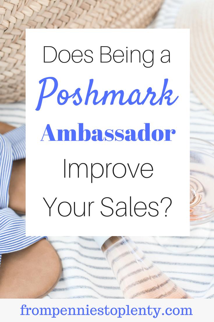 benefits poshmark ambassador 2