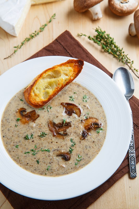 Soup Creamy-Mushroom-and-Brie-Soup
