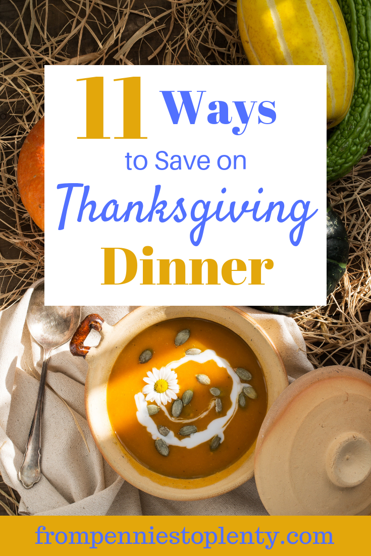 Thankgiving dinner savings