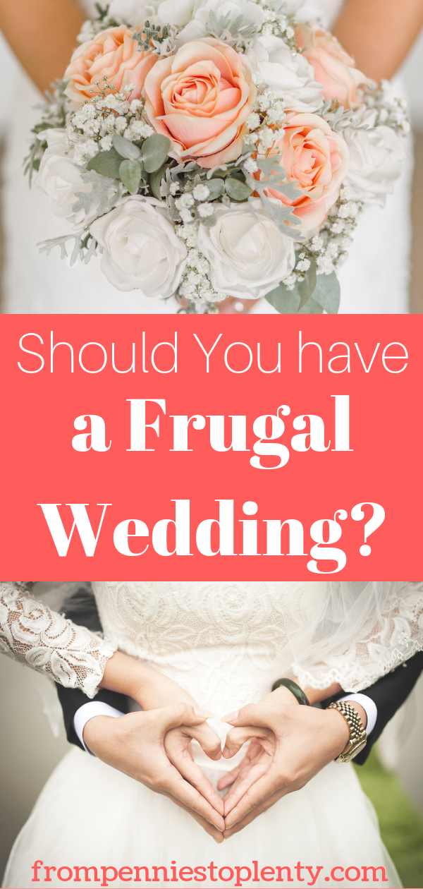 frugal wedding our budget