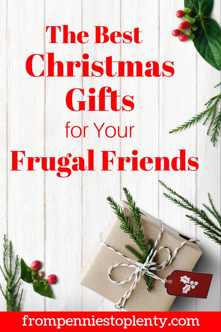 20 Christmas Gifts for Your Frugal Friends — From Pennies to Plenty