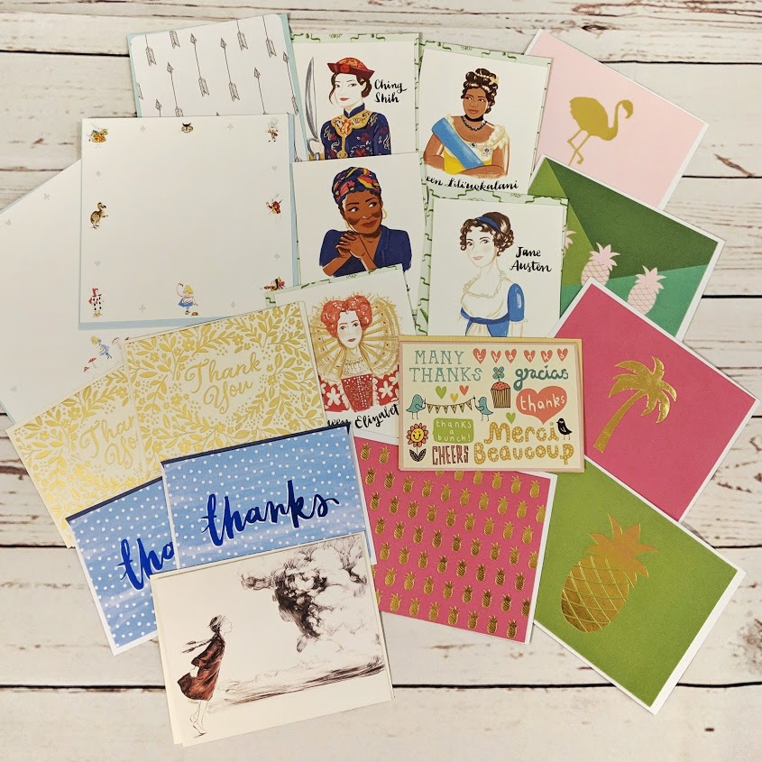 Some of the greeting cards currently in my rotation
