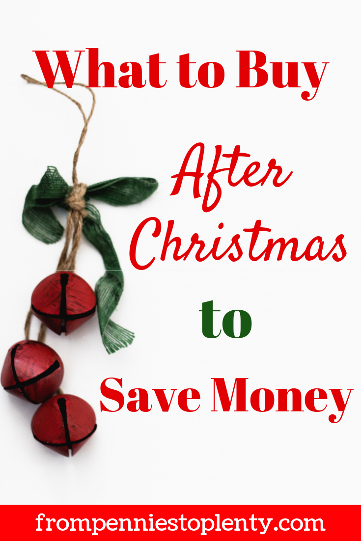 what to buy after christmas to save money 2