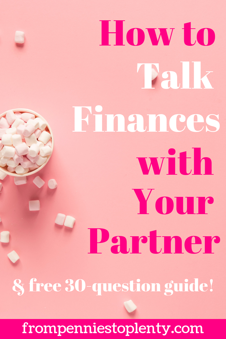 how to talk finances with your partner 1