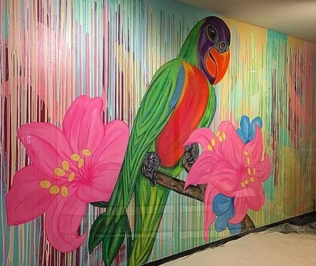 Caribbean Tan Wall Mural - Caribbean Tan in Ottawa, Illinois