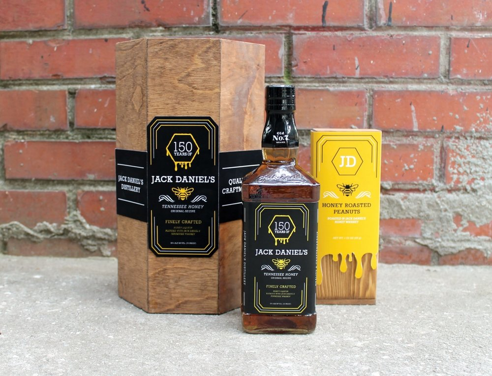 jack daniel's honey - branding | packaging