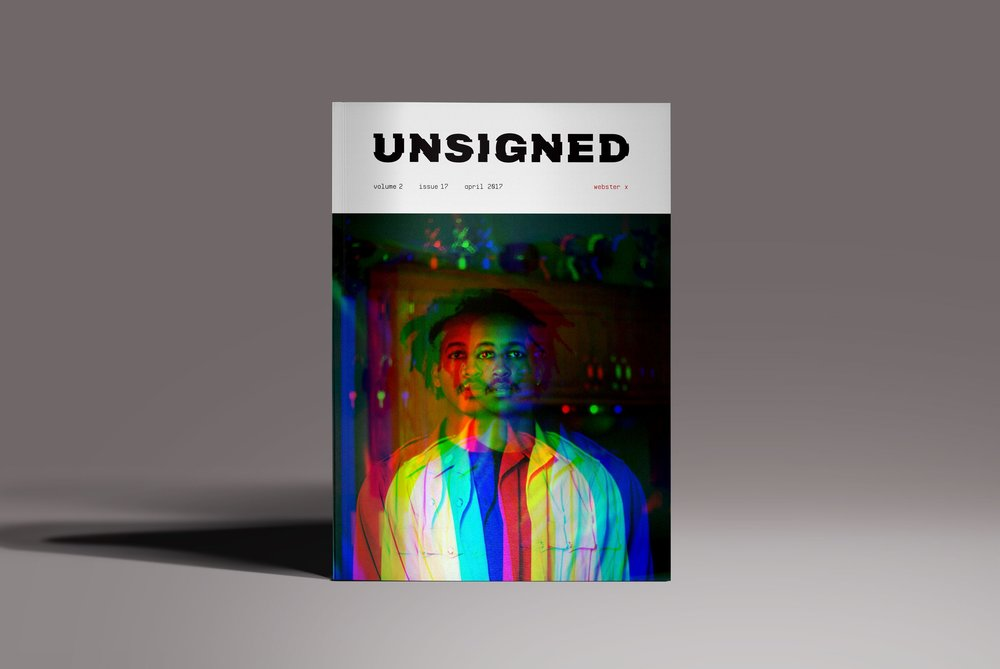 unsigned - branding | layout