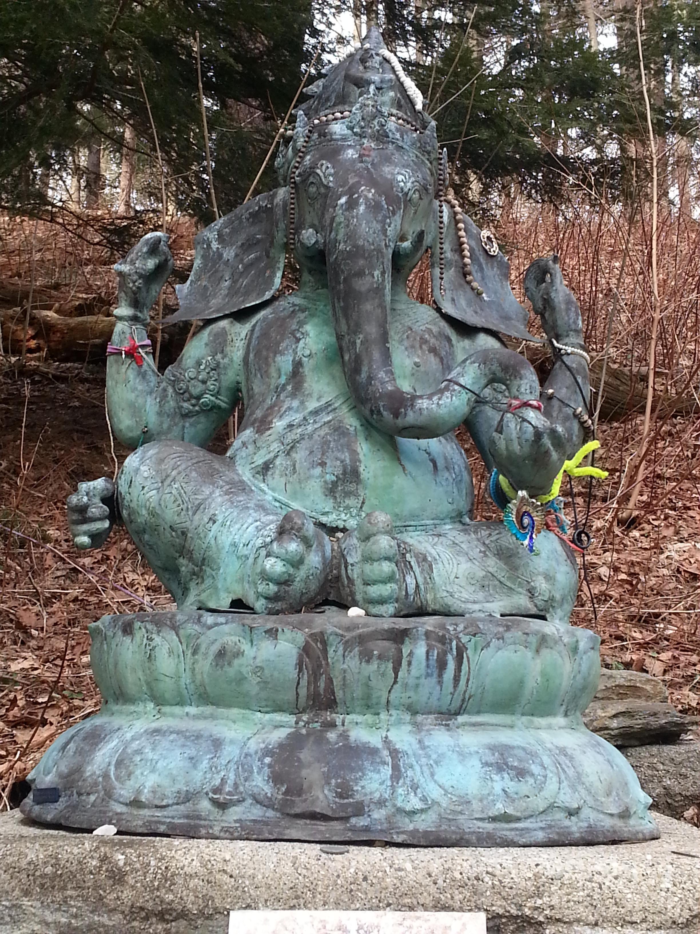 Ganesha at Kripalu