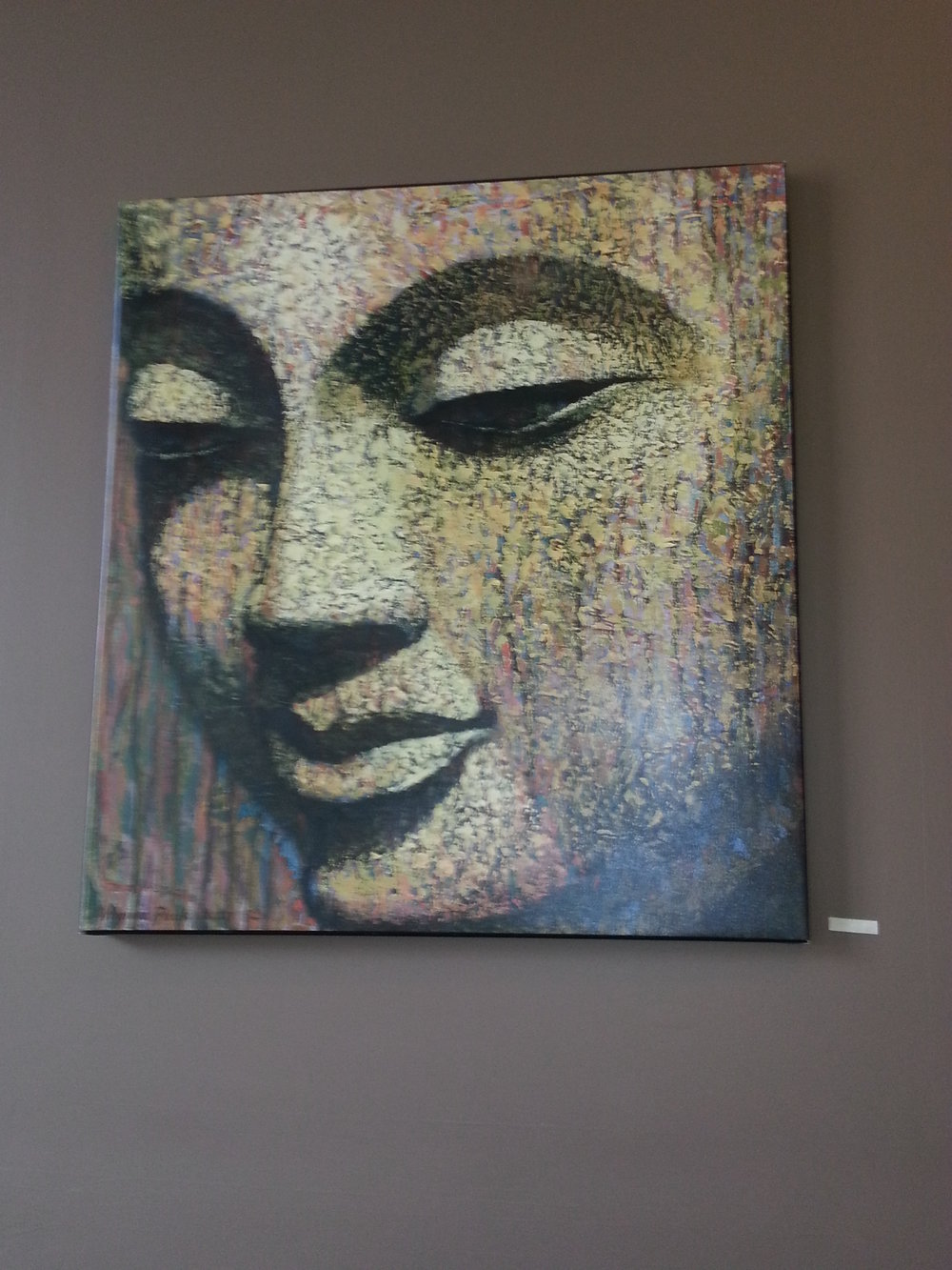 Dining Room Buddha at Kripalu