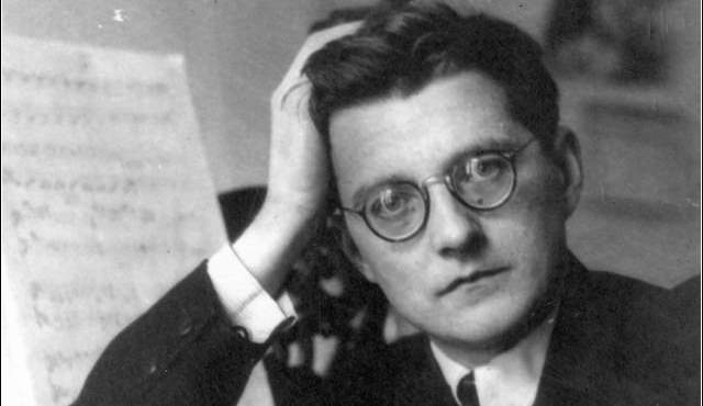 Dimitri Shostakovich, born 110 years ago today.