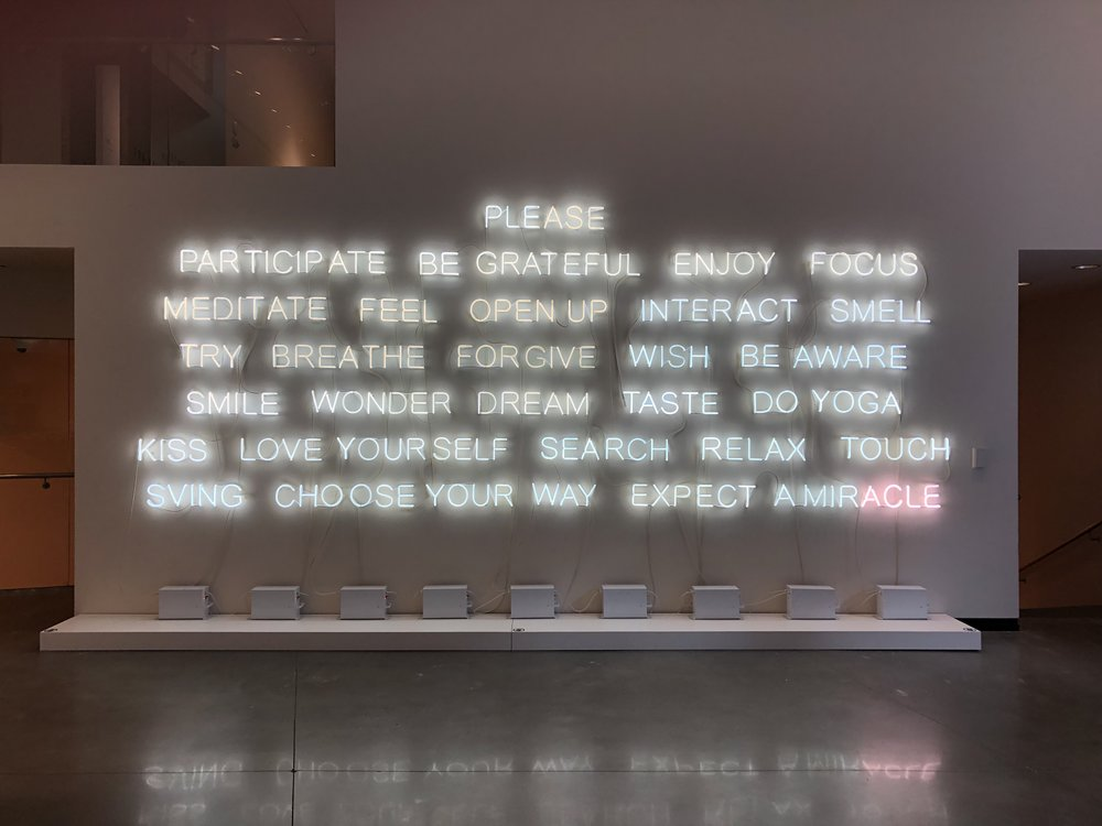 Please Participate (2015) by Jeppe Hein is currently on view at the Portland Art Museum.