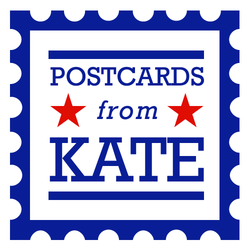 Postcards from Kate