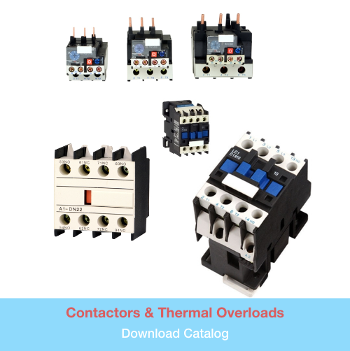 Contactors & Thermal Overloads   Download PDF Catalog
