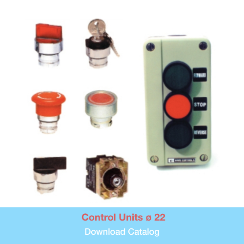 Control Units ø 22   Download PDF Catalog