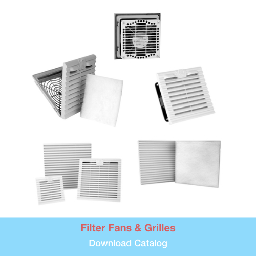 Filter Fans & Grilles   Download PDF Catalog