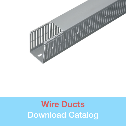 Wire Ducts   in Wire management catalog