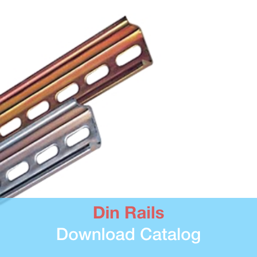 Din Rails   in Wire management catalog