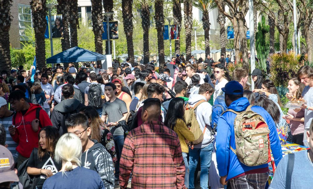 Santa Monica College Students at Club Awareness Day at Santa Monica College in Santa Monica, California on March 14, 2017 (Photo By: Diana Parra Garcia)