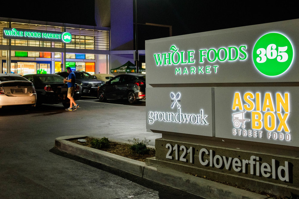 Whole Foods Market 365 located on the corner of Pico Blvd and Cloverfield LN in Santa Monica, CALIF. on September 28th, 2017. The store hours are from 7am - 10pm.  (Photo by Jayrol San Jose)