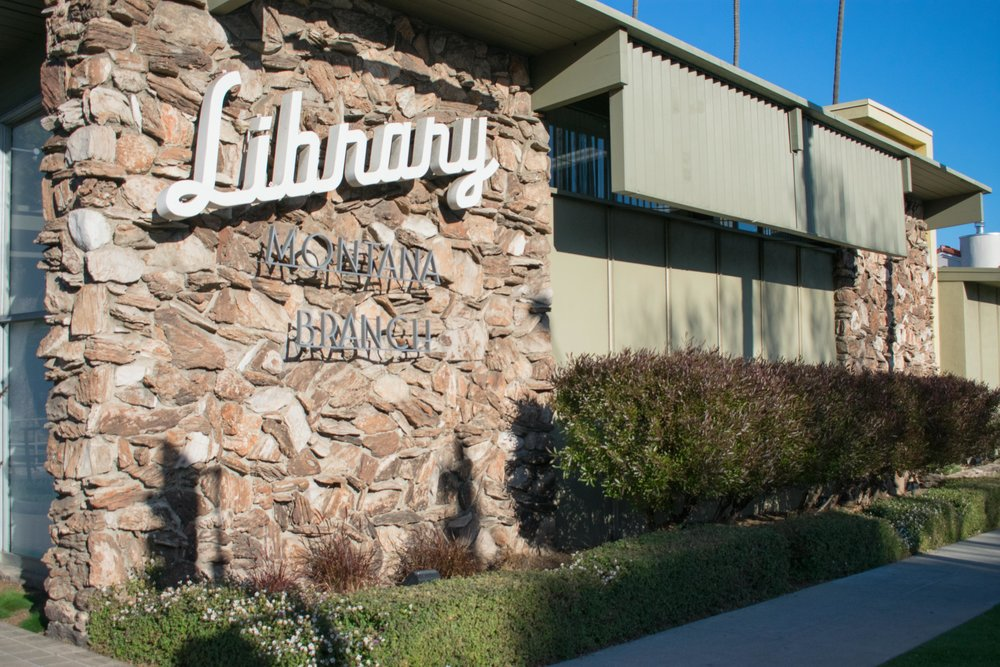 The Montana Avenue Branch of the Santa Monica Public Library system turns 58 since its opening in 1960 in Santa Monica, California. Designed by architect Weldon Fulton, the building was created after the original Montana Avenue Branch which opened in 1952 needed to relocate and the library has since been working on many programs and resources to help the community. March 1, 2018. (Photo by Ethan Lauren/Corsair Staff)