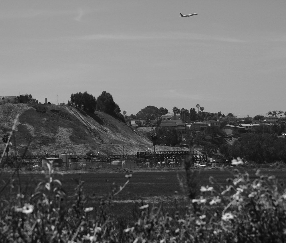 The SoCalGas storage facility in Playa del Rey sits at the bottom of a hill where mansions look down at it, while also placed amongst the marshes of the Ballona Wetlands Ecological Reserve on Saturday, May 5, 2018. (Pyper Witt/ the Corsair)
