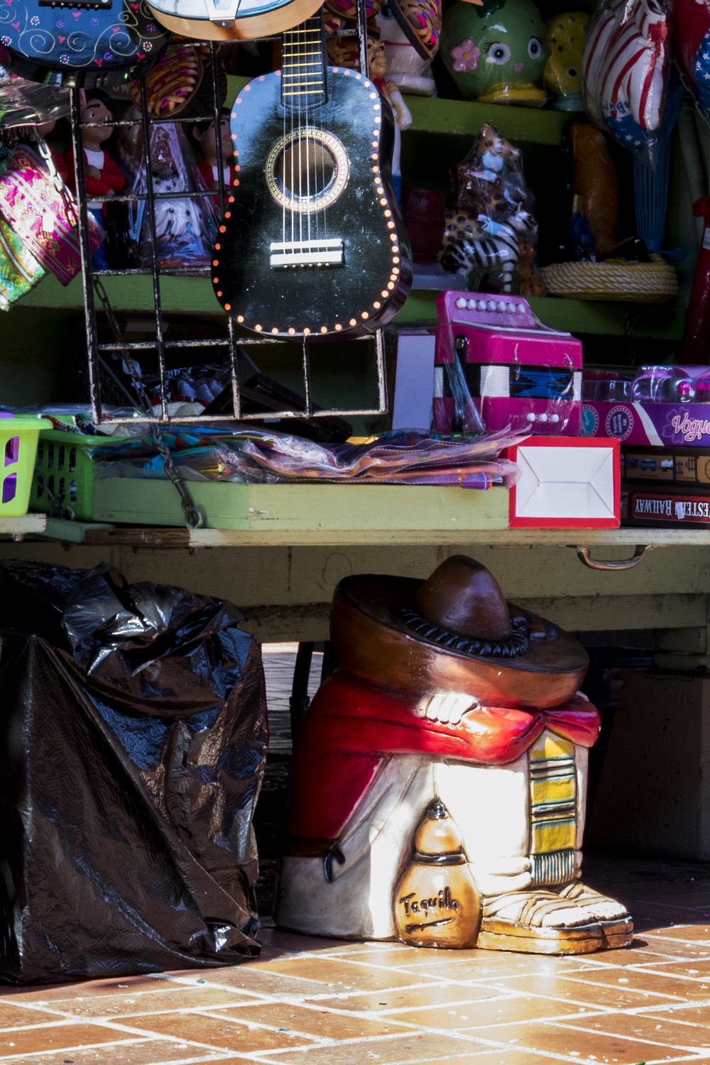 The front of one of the many stands on Olvera Street. (Zane Meyer-Thornton/Corsair Photo)