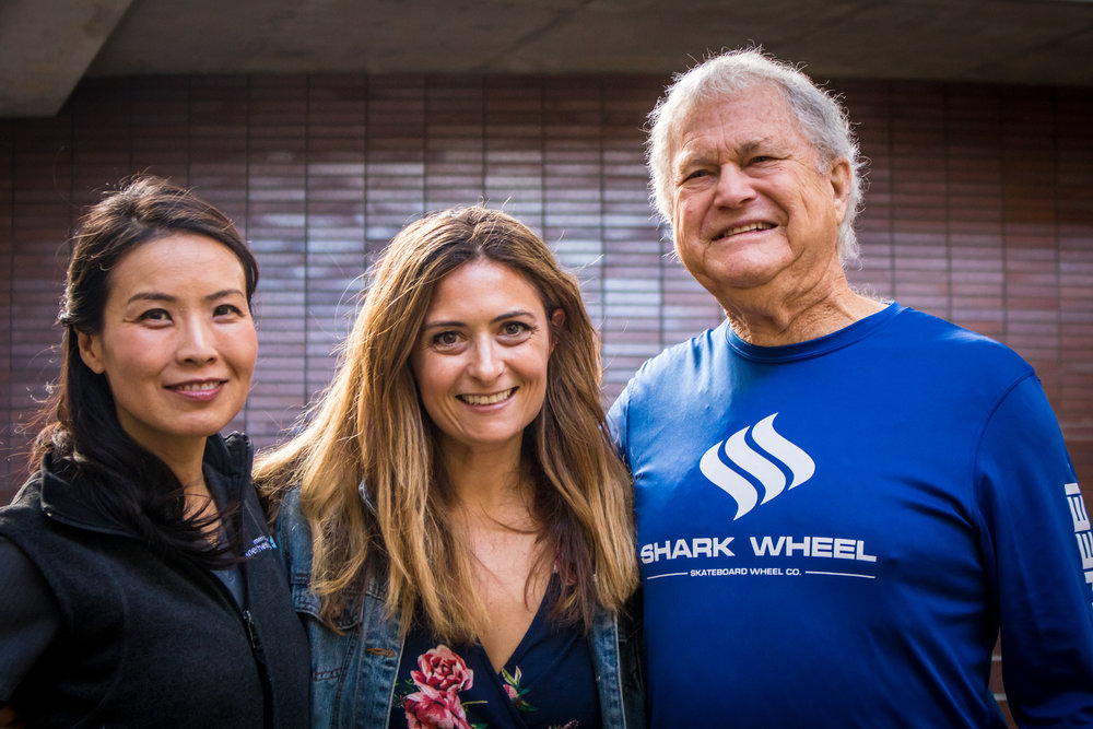 From left to right Dr. Edna Ma, Angela Watts, and Gary Fleishman at Santa Monica College after their panel discussion with SMC students in Santa Monica California on Novemeber 29, 2018. (Casey Contreras/ Corsair Staff)