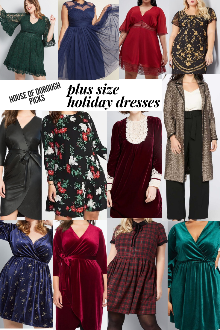 PLUS SIZE HOLIDAY DRESSES — House of Dorough