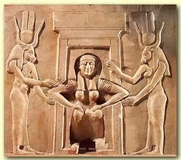 Egyptian-birth-temple-relief-at-the-Ancient-Egyptian-Dendera-Complex-depicts-a-woman-giving-birth-while-squatting-and-attended-by-the-two-godd.jpg