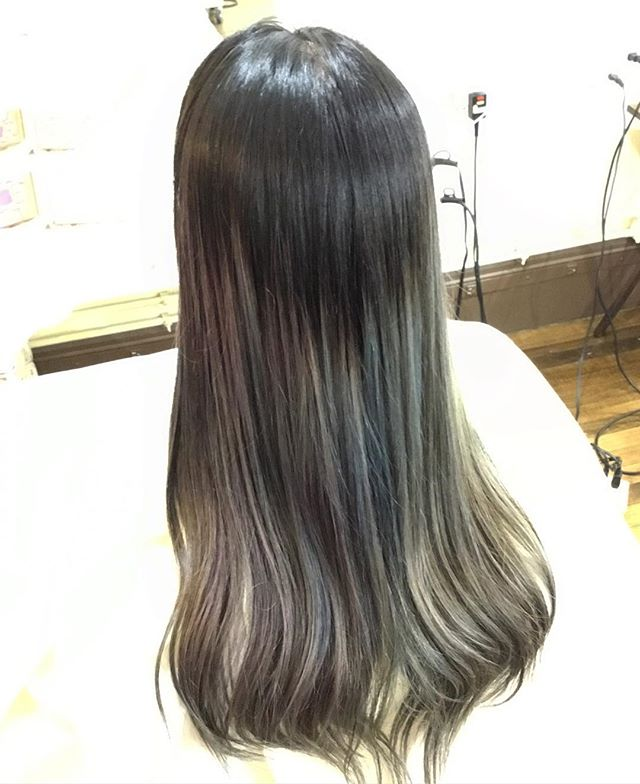 Awesome Ombre! Made by Jack #defi #japanesehairsalon #hairstyle #haircolor #boston