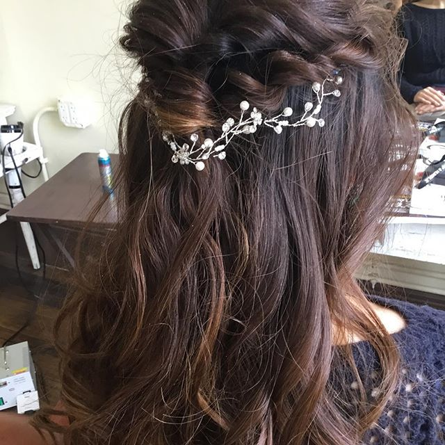Wedding up-do by Chika