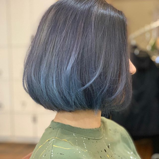 Jack made a great Sapphire Ash!! #hairsalon #boston #hairclour #milbon #defi #haircut